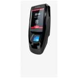 empresa de controle de acesso biométrico Aramari